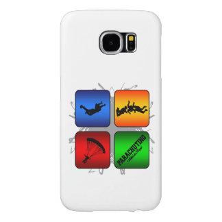 Amazing Parachuting Urban Style Samsung Galaxy S6 Cases