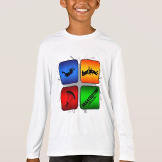 Amazing Parachuting Urban Style T-Shirt