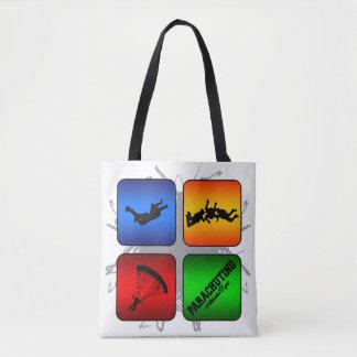 Amazing Parachuting Urban Style Tote Bag