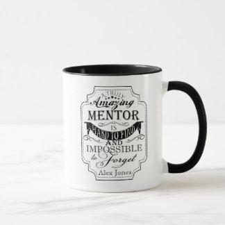 amazing personalise mentor Mug Black