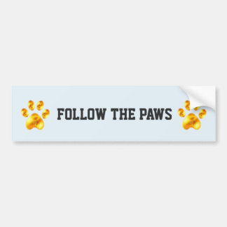Amazing Pet Paws Bumper Sticker