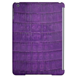 Amazing Purple Gator Print iPad Air Case