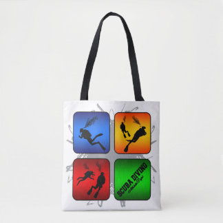 Amazing Scuba Diving Urban Style Tote Bag