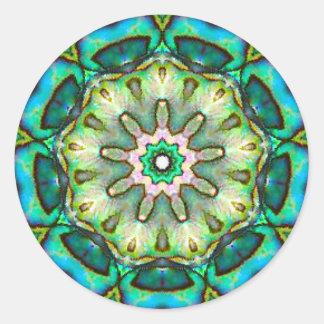 Amazing Sea Opal Classic Round Sticker