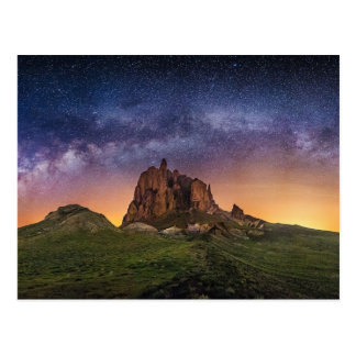 Amazing Shiprock in New Mexico Postcard