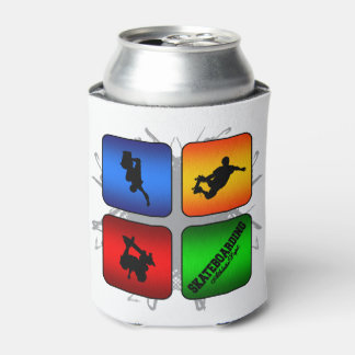 Amazing Skateboarding Urban Style Can Cooler