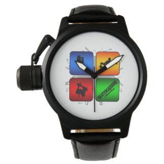 Amazing Skateboarding Urban Style Wristwatches