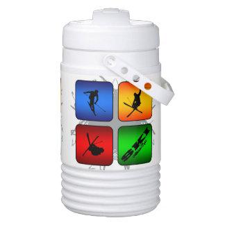 Amazing Ski Urban Style Drinks Cooler