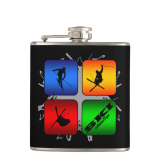 Amazing Ski Urban Style Hip Flask