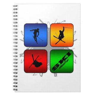 Amazing Ski Urban Style Notebook