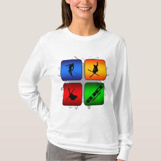 Amazing Ski Urban Style T-Shirt