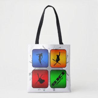 Amazing Ski Urban Style Tote Bag