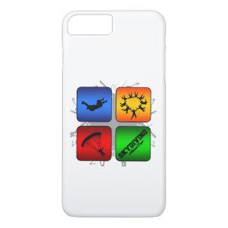 Amazing Skydiving Urban Style iPhone 8 Plus/7 Plus Case