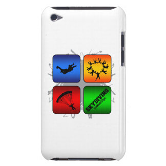 Amazing Skydiving Urban Style iPod Touch Cover