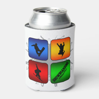 Amazing Snowboarding Urban Style Can Cooler