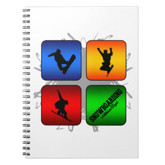 Amazing Snowboarding Urban Style Notebook