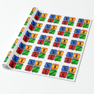 Amazing Snowboarding Urban Style Wrapping Paper
