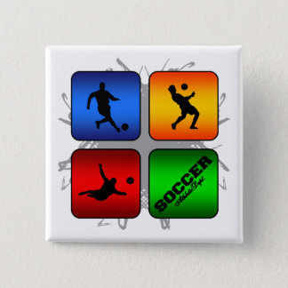 Amazing Soccer Urban Style 15 Cm Square Badge