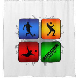 Amazing Soccer Urban Style Shower Curtain