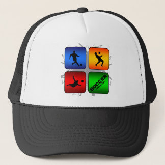 Amazing Soccer Urban Style Trucker Hat