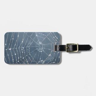Amazing Spider Web Luggage Bag Tag