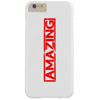Amazing Stamp Barely There iPhone 6 Plus Case