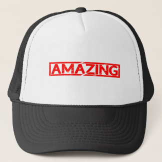 Amazing Stamp Trucker Hat