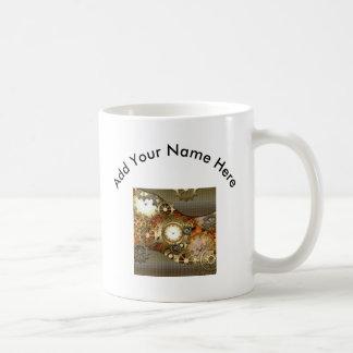 Amazing steampunk design basic white mug