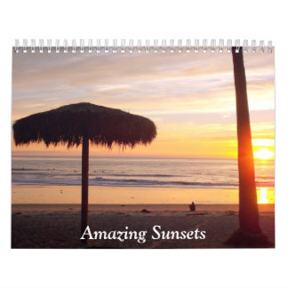 Amazing Sunsets 2013 Calendar
