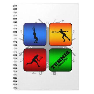 Amazing Tennis Urban Style (Female) Notebook