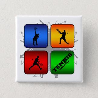 Amazing Tennis Urban Style (Male) 15 Cm Square Badge