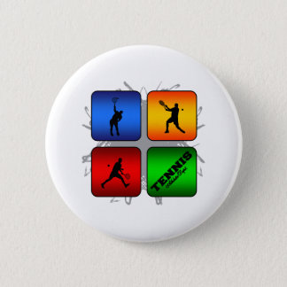 Amazing Tennis Urban Style (Male) 6 Cm Round Badge