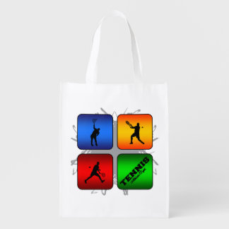 Amazing Tennis Urban Style (Male) Reusable Grocery Bag