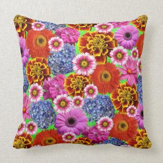 Amazing Throw Pillow In Flower Design Cushion