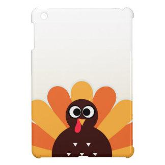 Amazing turkey in brown, yellow iPad mini covers