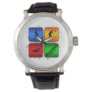 Amazing Volleyball Urban Style Watch
