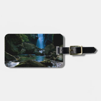Amazing waterfall luggage tag