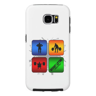 Amazing Weight Lifting Urban Style Samsung Galaxy S6 Cases