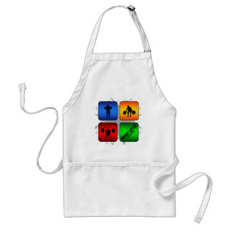 Amazing Weight Lifting Urban Style Standard Apron