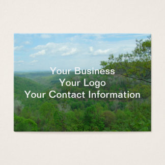 Amazing West Virginia Mountain View Business Card