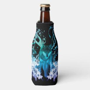 Amazing wolf bottle cooler