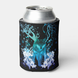 Amazing wolf can cooler