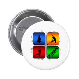 Amazing Yoga Urban Style 6 Cm Round Badge