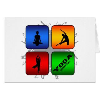 Amazing Yoga Urban Style Card