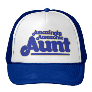 Amazingly Awesome AUNT Cap
