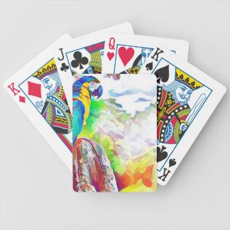 Amazon Bird Bicycle Playing Cards