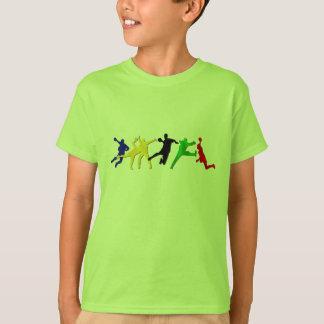 Amazon Green kids handball tshirt gift