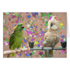 Amazon Moluccan Small Note Card