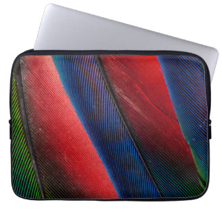 Amazon parrot feather design laptop sleeve