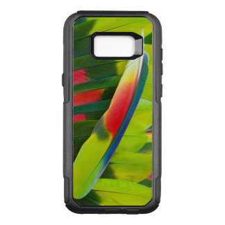 Amazon Parrot Feather Still Life OtterBox Commuter Samsung Galaxy S8+ Case